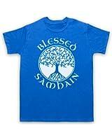 Blessed Samhain Gaelic Festival Herren T-Shirt