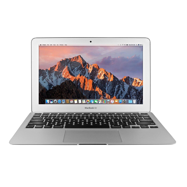Apple MacBook Air MJVM2LL/A 11.6-Inch Laptop (1.6 GHz Intel Core i5, 128 GB Hard Drive, Integrated Intel HD Graphics 6000, Mac OS X 10.10 Yosemite) (Certified Refurbished)