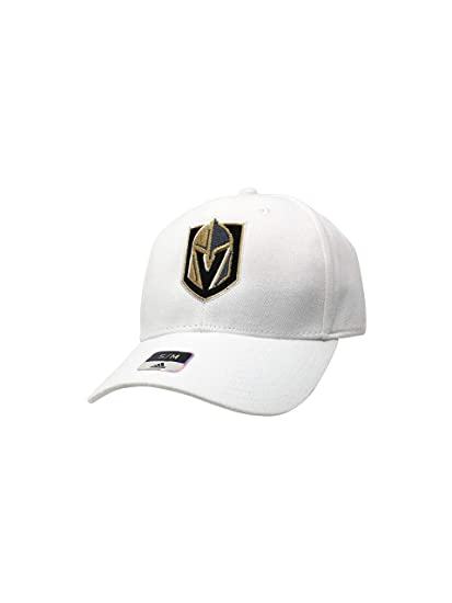 bf5d89e311f64 adidas Vegas Golden Knights Hats Fitted and Adjustable NHL Hockey Baseball  Caps (S/M
