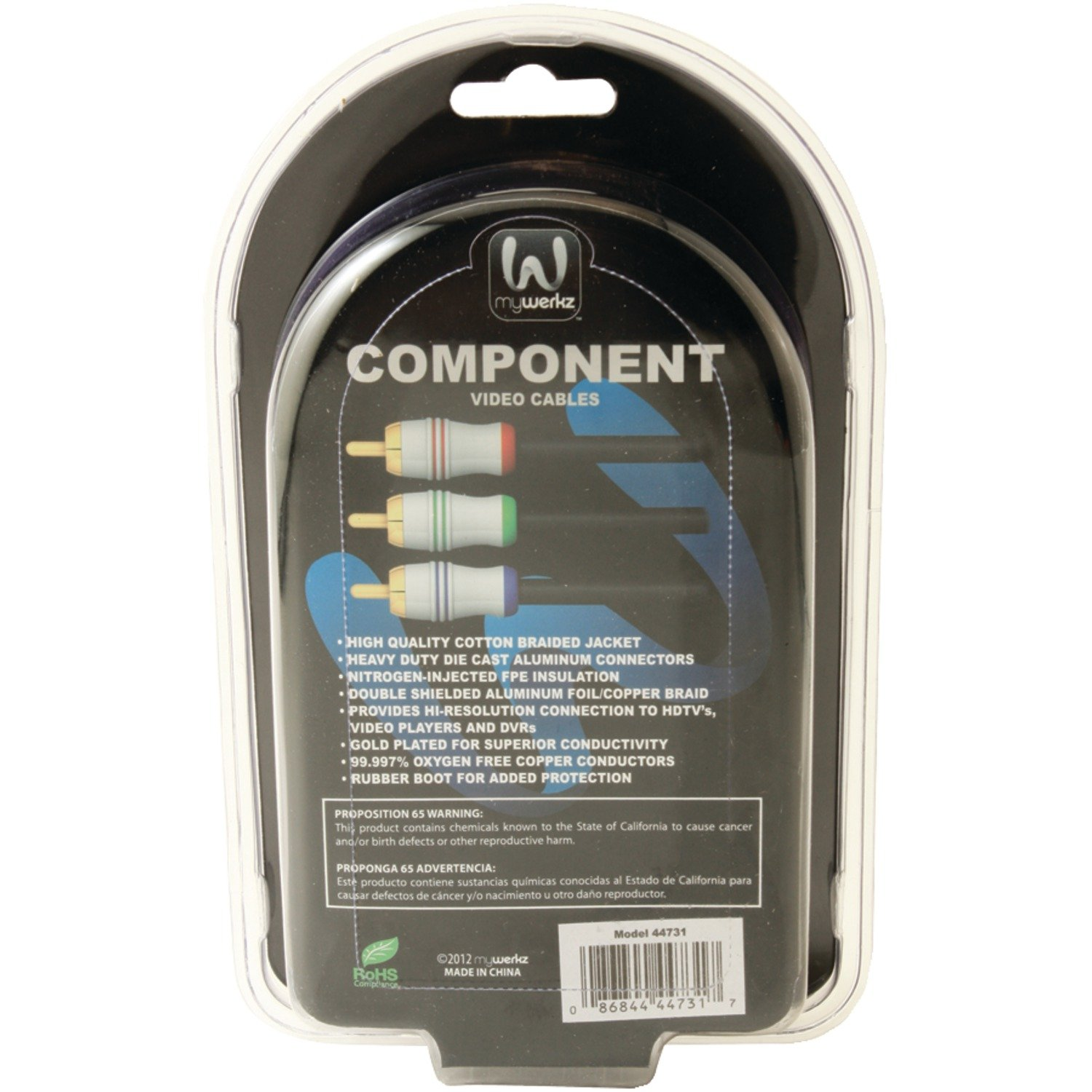 1m mywerkz 44731 700 Series Component Video Cable