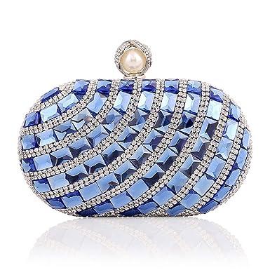 Bolso de Mano de Lujo del Diamante del Bolso del Embrague de Las Señoras Bolso del ...