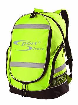 Sport Direct Hi-Viz Sac à Dos (Jaune): Amazon.