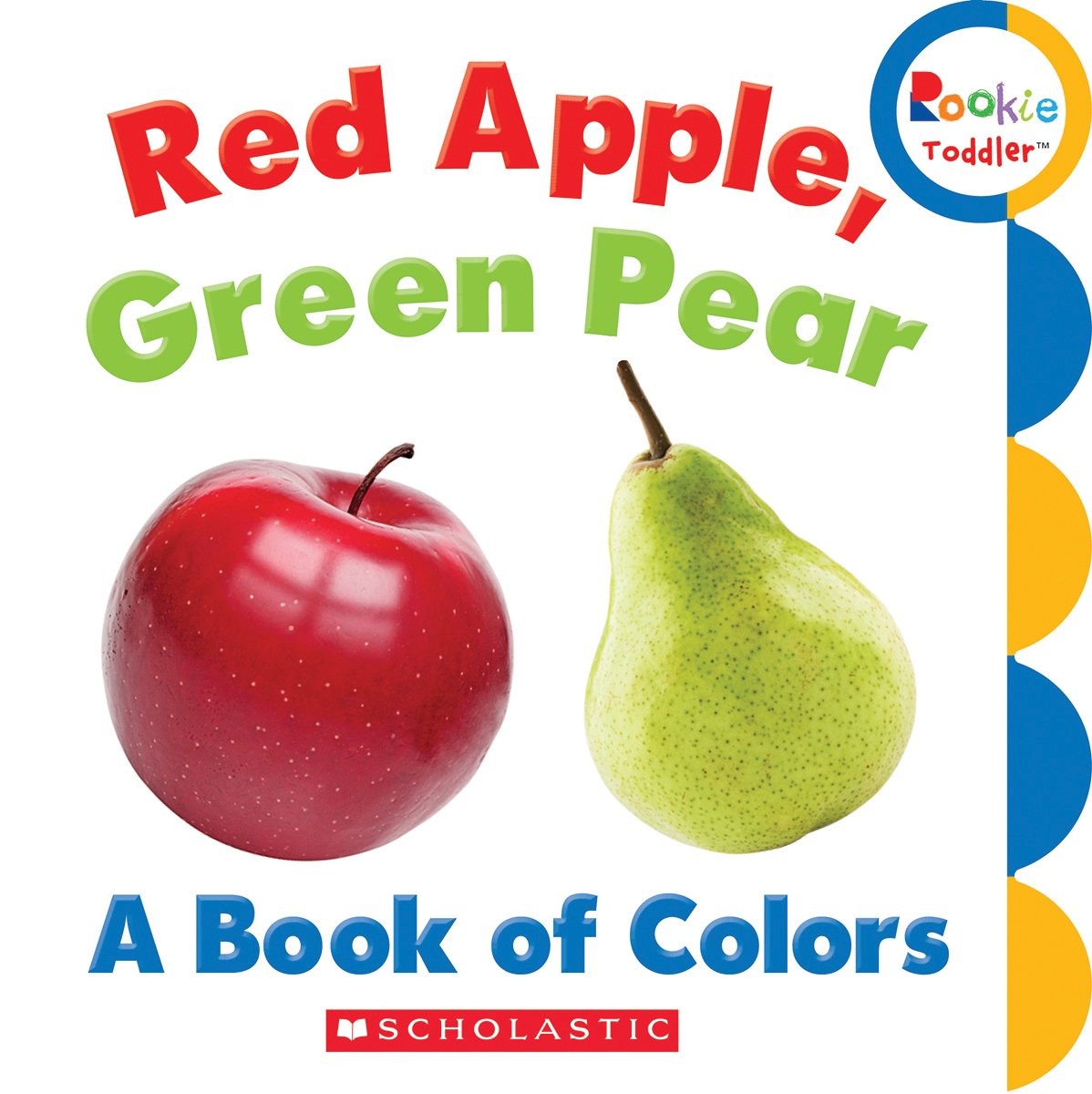 Amazon.com: Red Apple, Green Pear: A Book of Colors (Rookie Toddler ...