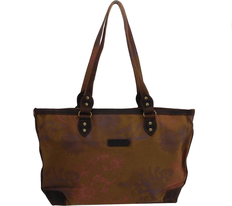 Harolds - dieses Angebot wird - präsentiert von ZMOKA HRO-DHAT-4538-CM - Bolso al Hombro para Mujer Marrón marrón Claro