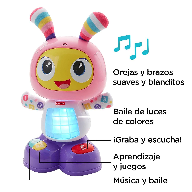 Fisher-Price Robot interactivo Robita, juguete electrónico bebé +9 ...