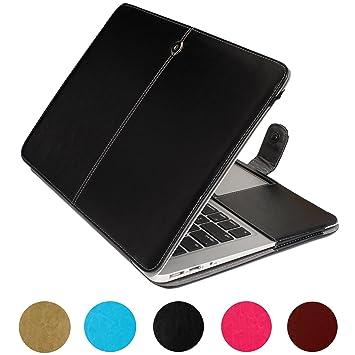 MacBook Pro 13 pulgadas A1425/A1502 Carcasa, papyhall Bling Bling Cristal Carcasa rígida Carcasa Color con purpurina diseño de plástico recubierto de ...