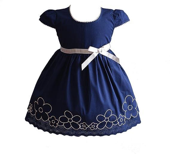 Cinda Baby Mädchen Sommer Baumwoll Kleid