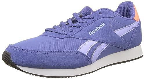 Reebok Bs7010, Zapatillas para Mujer, Azul (Lilac Shadow/Lilac Glow/Gua Punch/White/Black), 36 EU