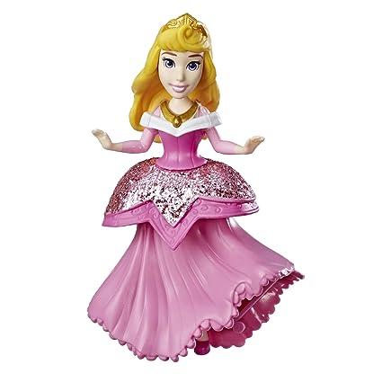 c09f968e84d64 Amazon.com: Disney Princess Aurora Doll with Royal Clips Fashion, One-Clip  Skirt: Toys & Games