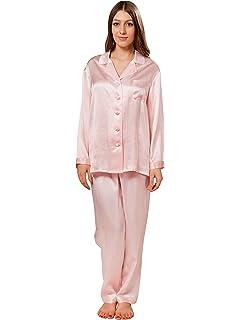 410b0ca1af LILYSILK Women s 100 Silk Pyjama Set Long Pajamas Ladies 2Pcs 22 ...