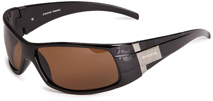 Eyelevel Bermuda - Gafas de sol polarizadas para hombre, color negro/marrón, talla única: Amazon.es: Ropa y accesorios