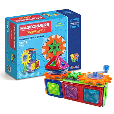 Amazon Magformers Magnets In Motion 32 Pieces Toys Games