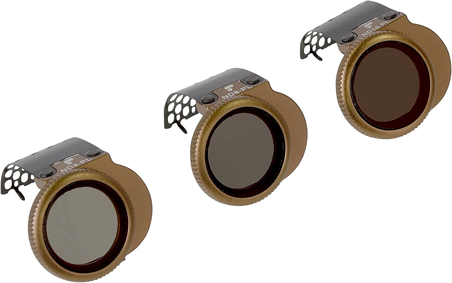 for DJI Spark PolarPro Shutter Collection 3-Pack ND4, ND8, ND16