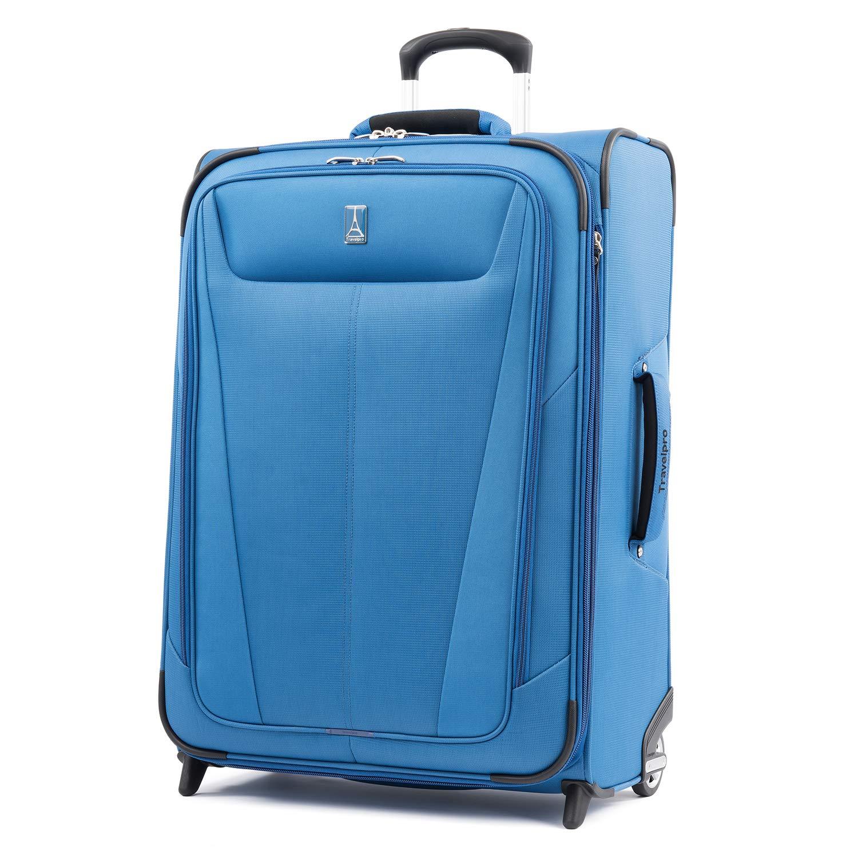 Travelpro Maxlite 5 Expandable Rollaboard Luggage 26-Inch, Azure Blue, One Size (Model:401172627) HOLA2