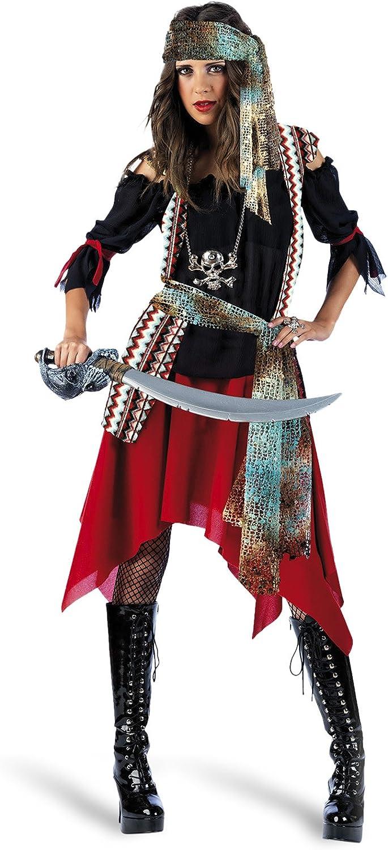 Limit Sport - Disfraz de pirata malvada para adultos, talla L ...