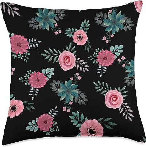 Flower Gardening Throw Pillow Gardening Girl by bettyjoy/_design/_studio Plant Florals  18x18 Square Throw Pillow by Spoonflower