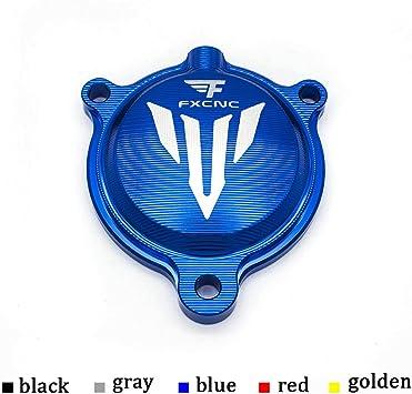 FXCNC Blue For Yamaha YFM700 2008-2018 ATV Brake Fluid Reservoir Pump Cap Cover