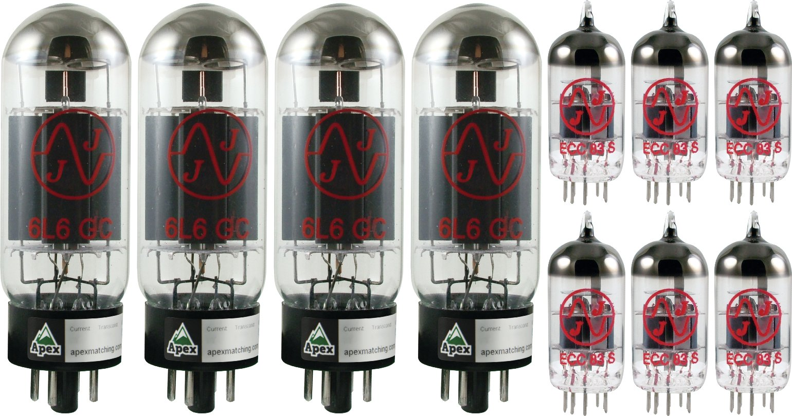 Tube Complement for Peavey 6505+ PLUS, JJ brand