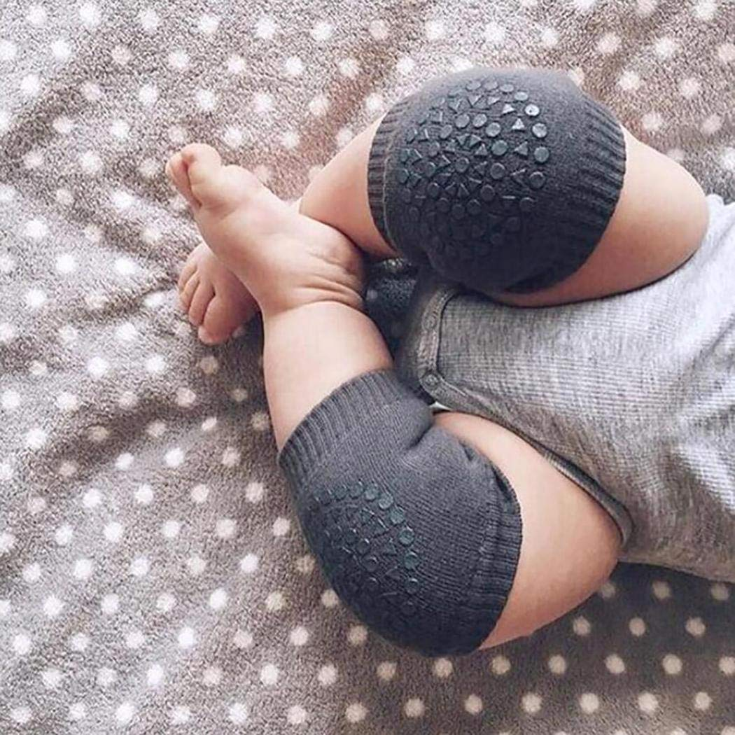 Tiowea Kids Knee Guards Baby Non-slip Crawling Sports Protective Gear Socks