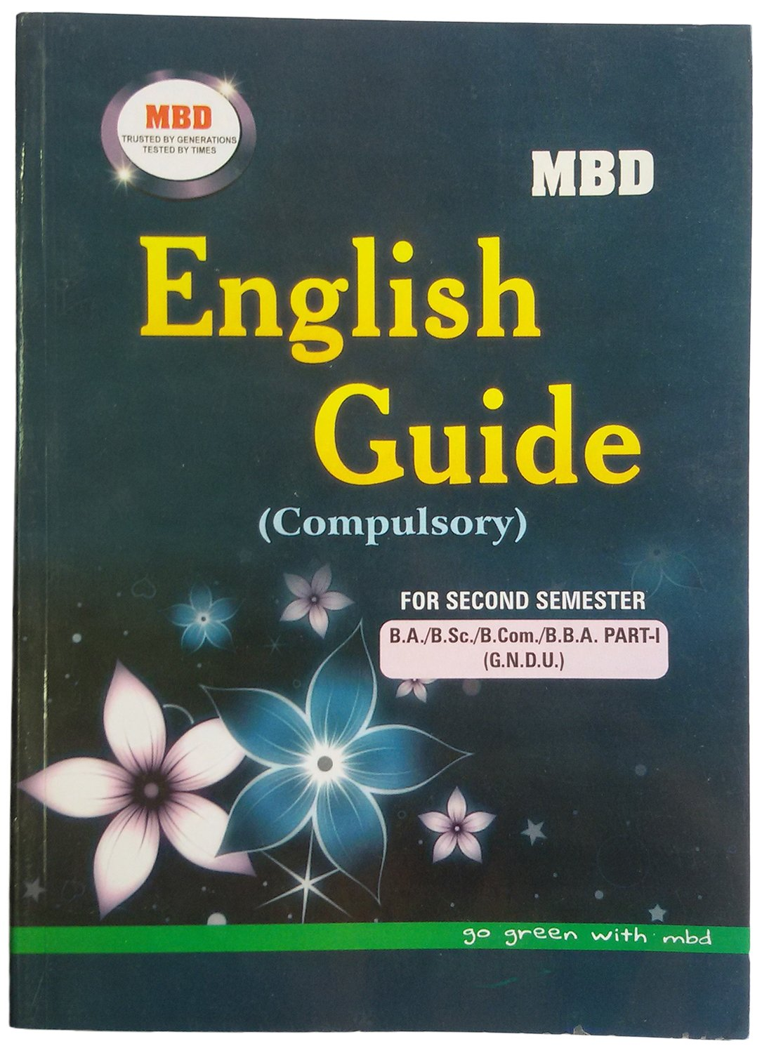 buy mbd english guide for 2nd semester book online at low prices in rh amazon in mbd english guide for class 10 mbd english guide for class 11