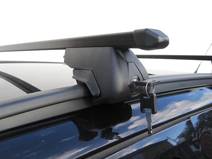 Barras de techo para carga sólida para Opel Zafira (modelos de 2007 en adelante). No compatibles con el modelo Tourer: Amazon.es: Coche y moto
