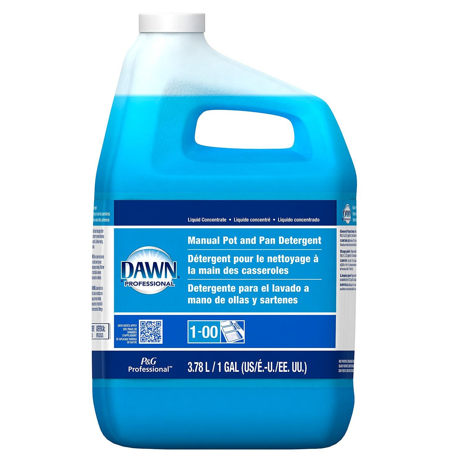 Dawn Professional Pot and Pan Detergent Regular Scent 1 Gallon