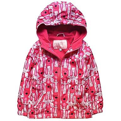 a4be3d71b Hooded Jacket Girls Winter Waterproof - Kids Rain Jacket Spring ...