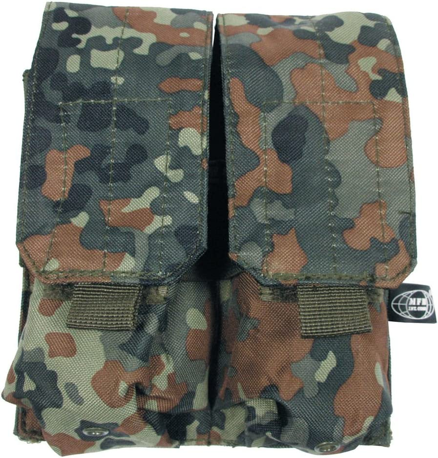 Magazintasche dreifach Molle Tasche für 3 Magazine Militär Tasche flecktarn
