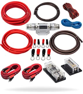 Miraculous Amazon Com Rockford Fosgate Rfk1D Dual Amp Complete Kit Car Wiring 101 Capemaxxcnl