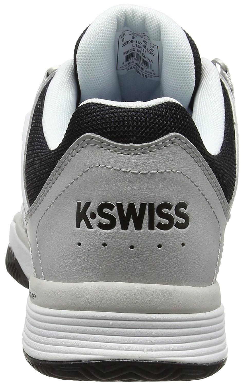 Mens Hypermatch Hb Tennis Shoes, Fiery Red/Black K-Swiss