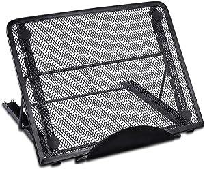 Mlife Light Pad Stand - Adjustable Light Box Laptop Stand, 6 Angles Non-Skidding Metal Holder for A4 LED Tracing Box & Diamond Painting Light Pad