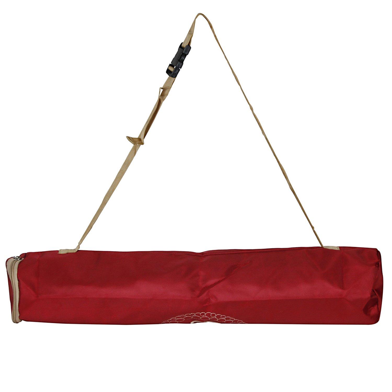 Amazon.com: OM Designed Yoga Mat Bag & Cover Light Weight ...