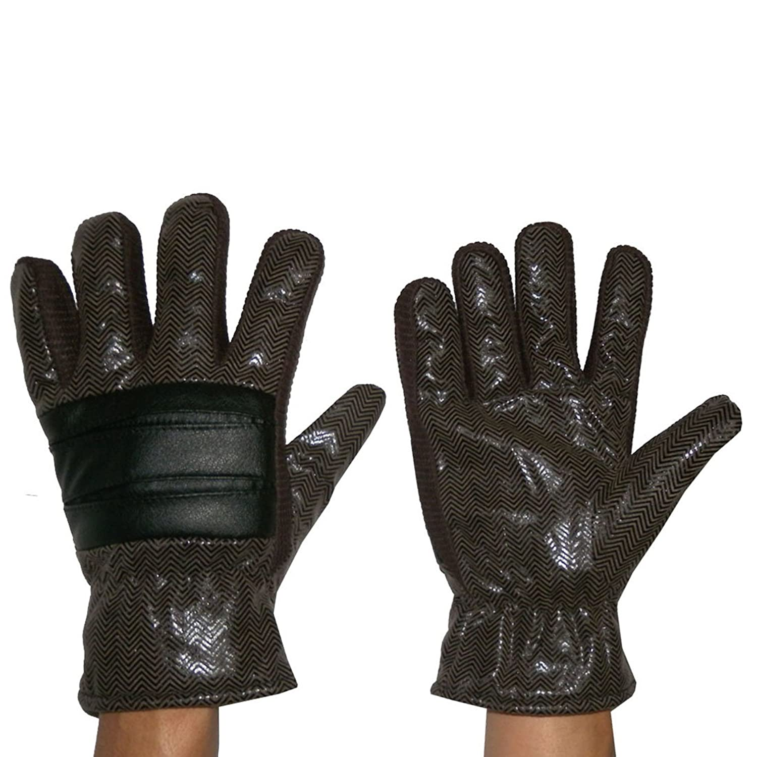 Herren Warm & Windproof Insulated Winter Ski Handschuhe with Interior Lining