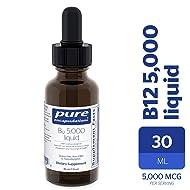 Pure Encapsulations - B12 5000 Liquid - 5,000 mcg Vitamin B12 (Methylcobalamin) Liquid for Nerve Health and Cognitive Function* - 30 ml
