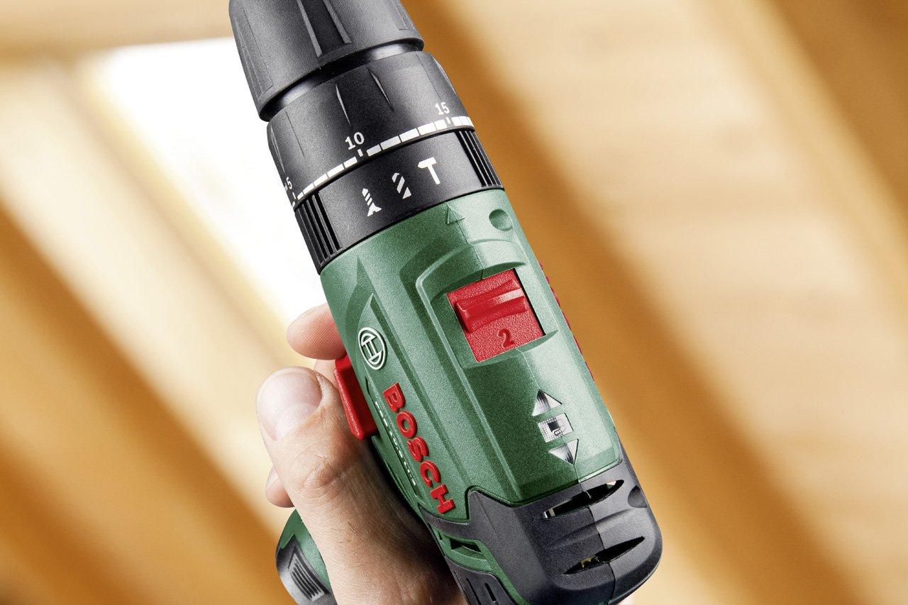 2 batteries 508 pi/èces technologie syneon 060398390C Bosch Bo/îte /à outils toolbox perceuse-visseuse /à percussion sans fil PSB 10,8 li-2 colorguide
