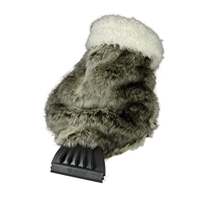 Hopkins 13929 SubZero Faux Fur Scraper Mitt: Automotive
