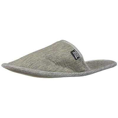 Herschel Cashmere Slippers, Heathered Grey: Clothing