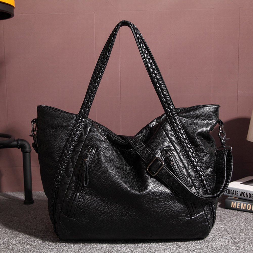 Weibliche Handtasche Weibliche Schulter Messenger Bag Waschwagen Weiche Tasche 3067 , groß