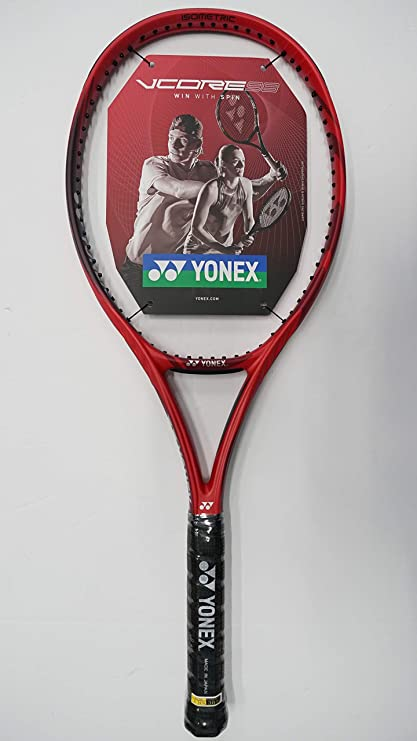 Yonex Vcore 98 Tennis Racquet, Free Synthetic Gut String (#2 [4 1