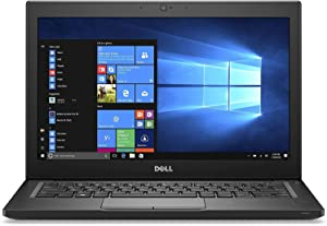 Dell Latitude 7280 12.5-Inch HD Anti-Glare Display 7th Generation Laptop Notebook (Intel Core i5-7300U 2.60 GHz, 8GB Ram, 512GB SSD, HDMI, Camera, WiFi ) Win 10 Pro (Renewed)