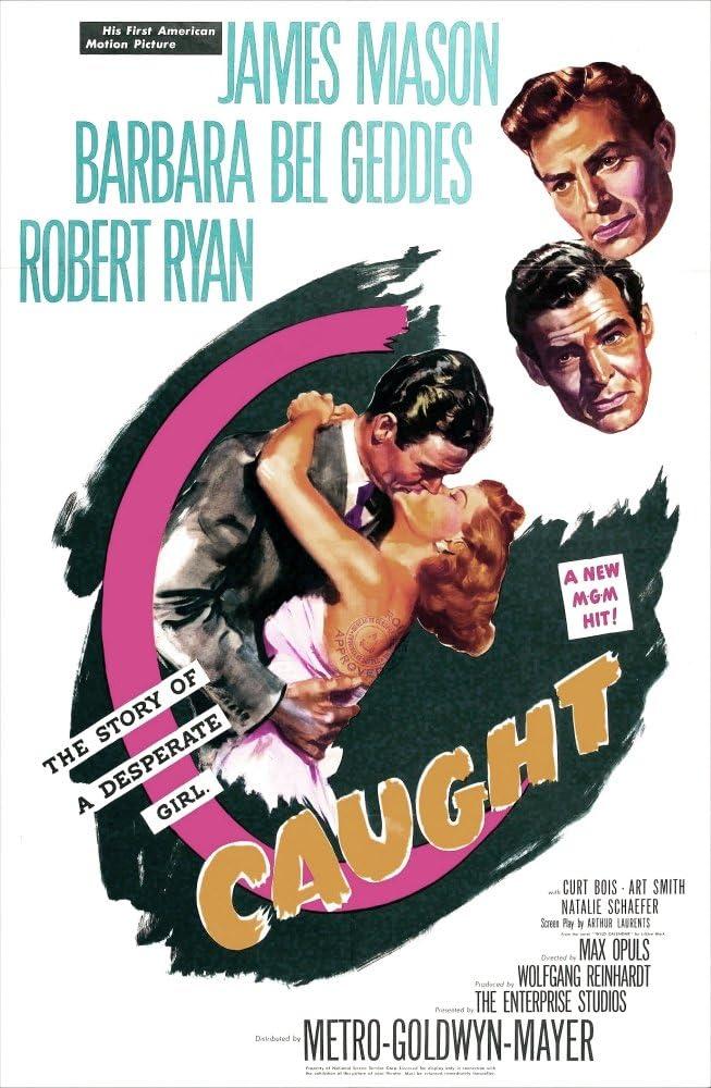 Amazon.com: Posterazzi Caught Us Top: James Mason Robert Ryan Barbara Bel  Geddes 1949 Movie Masterprint Poster Print, (11 x 17): Posters & Prints