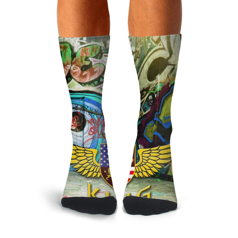 Knee High Long Stockings KCOSSH King Novelty Calf Socks Cool Crew Sock For Mens