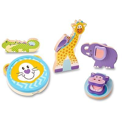 Melissa & Doug Safari Musical Instruments: Toys & Games