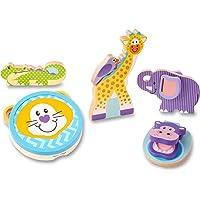 Melissa & Doug 3318 First Play - Safari Musical Instruments Baby Play, 1 EA, Multi