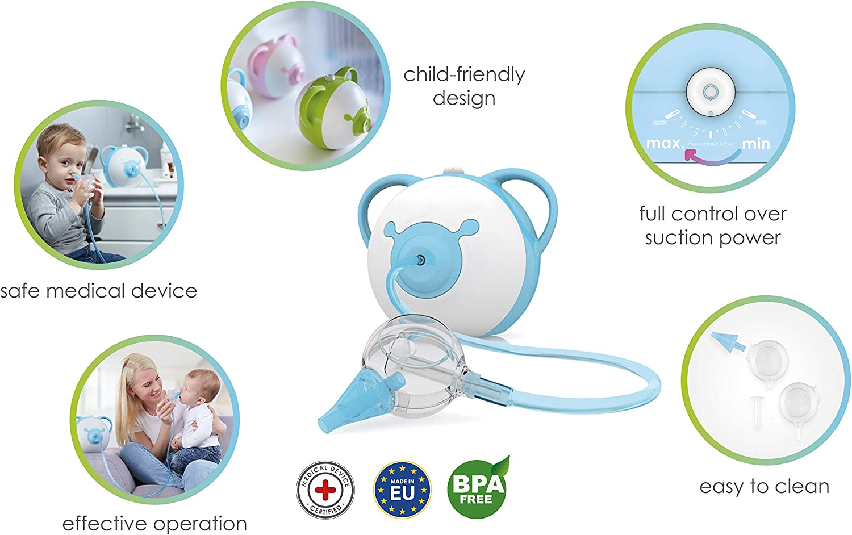 Aspirador Nasal Nosiboo Pro para bebés: Amazon.es: Bebé