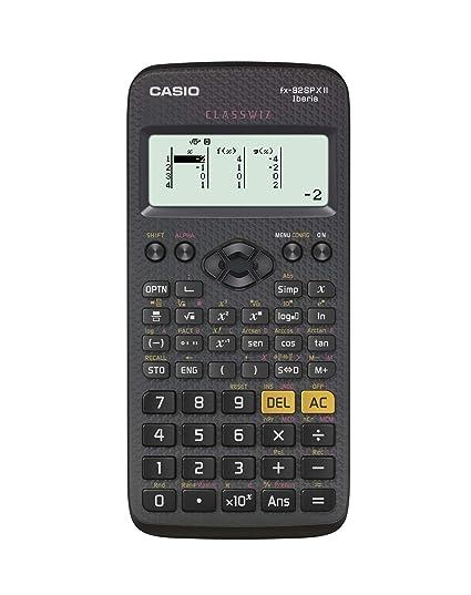 Casio FX-82SPXII Iberia - Calculadora científica, Recomendada para el curriculum español y portugués, 252 funciones, color gris