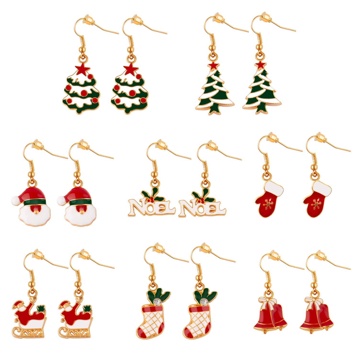 Really Super Cute Christmas Earrings!