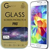 Samsung Galaxy S5 Gorilla Tech ® Premium Tempered Glass Screen Protector Invisible Shield HD Cover 9H Hardness Crystal Clear HD Quality Shatter & Scratch Resistant
