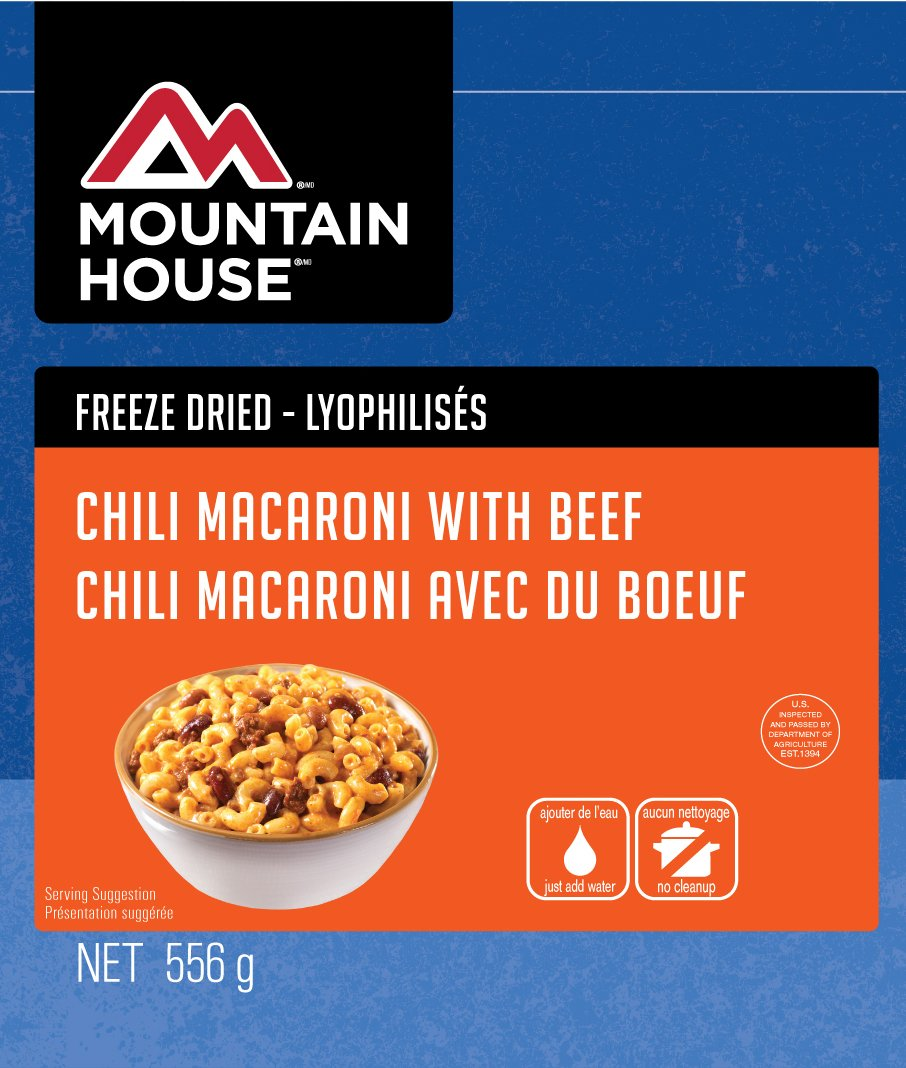Mountain House Chili Mac with Beef #10 Can 30-128