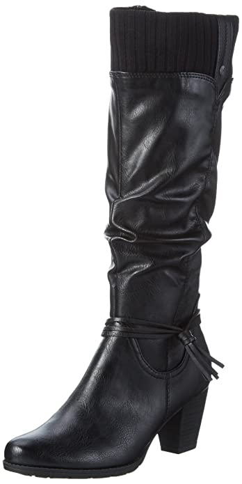 Marco Tozzi 25511, Women s Knee High Boots, Black (BLACK ANT.COMB 096 504847f758